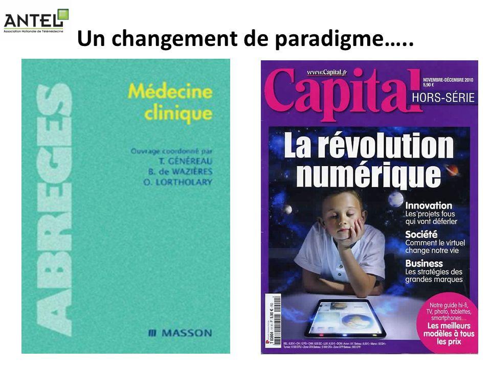 Un changement de paradigme…..