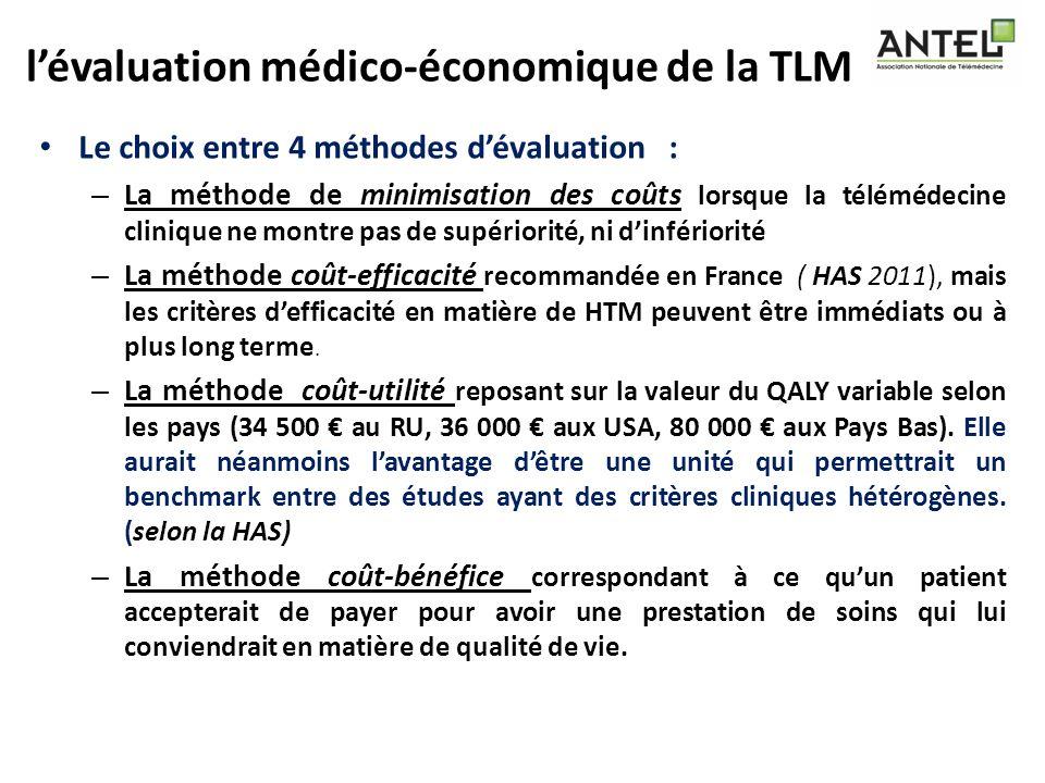l'évaluation médico-économique de la TLM