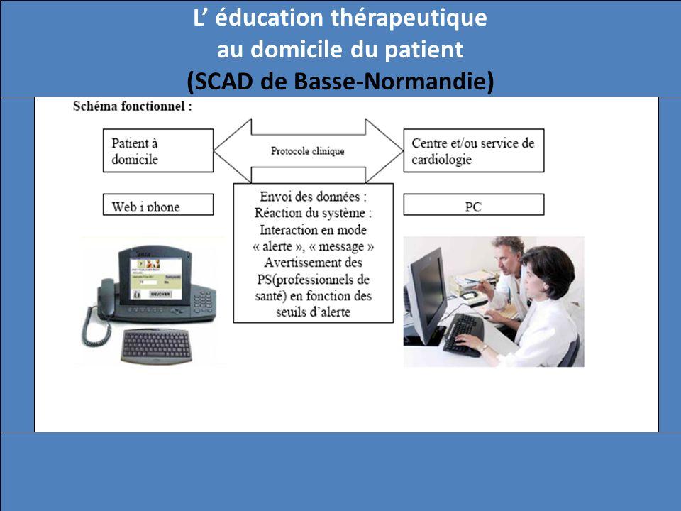 L' éducation thérapeutique au domicile du patient