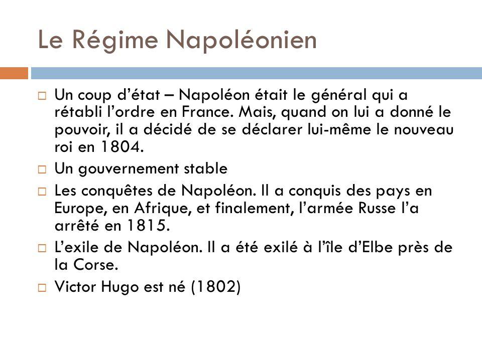 Le Régime Napoléonien