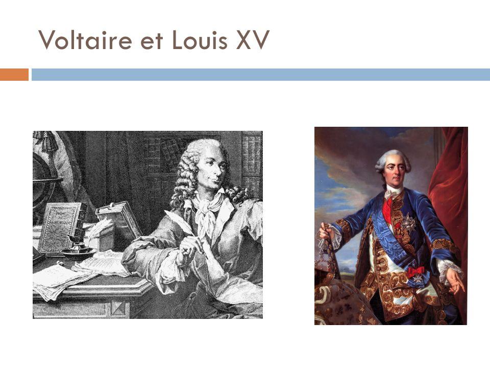 Voltaire et Louis XV