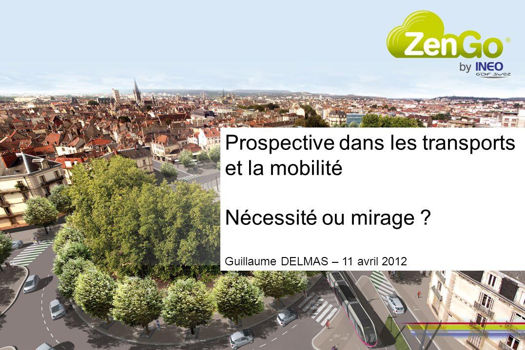Prospective dans les transports et la mobilité Nécessité ou mirage