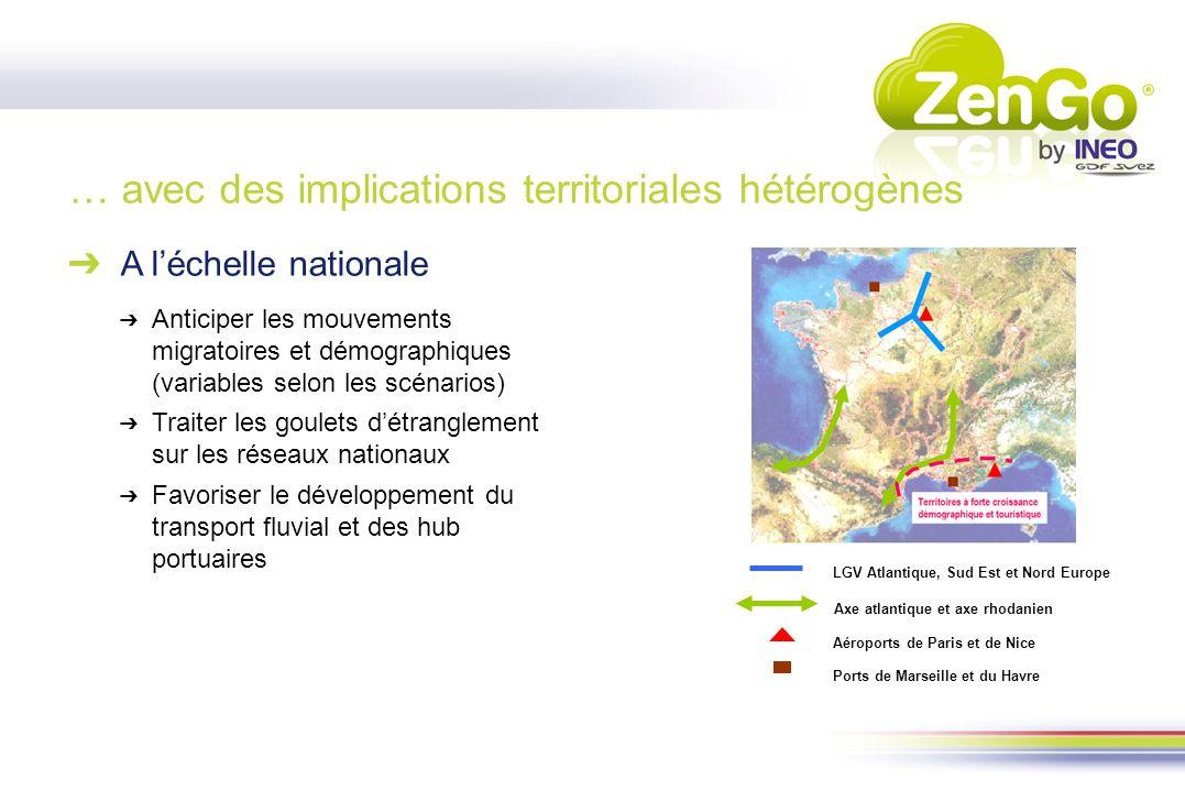 … avec des implications territoriales hétérogènes