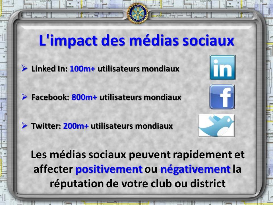 L impact des médias sociaux