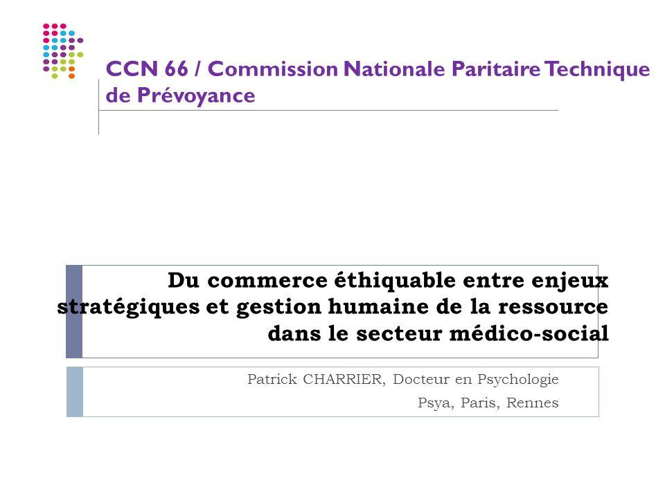 Patrick CHARRIER, Docteur en Psychologie Psya, Paris, Rennes