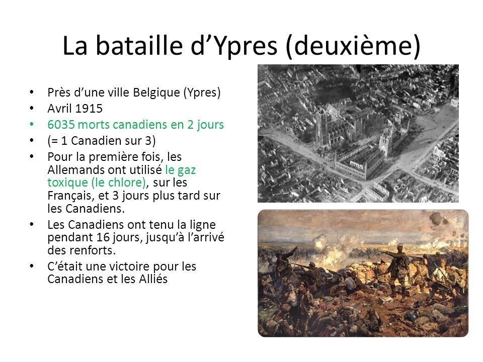 La bataille d'Ypres (deuxième)
