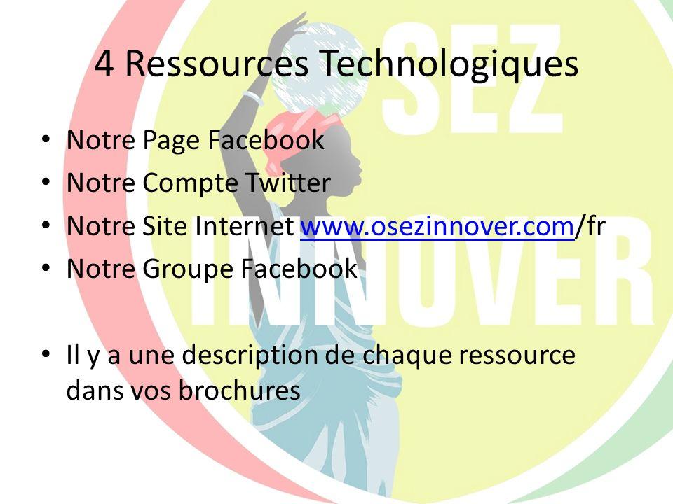 4 Ressources Technologiques