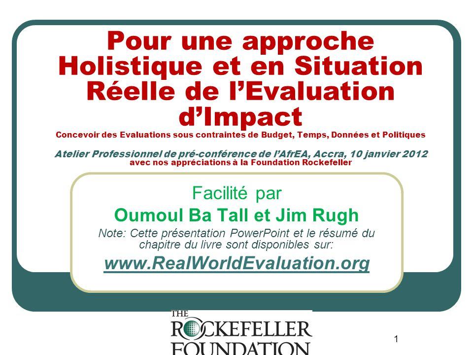 Oumoul Ba Tall et Jim Rugh