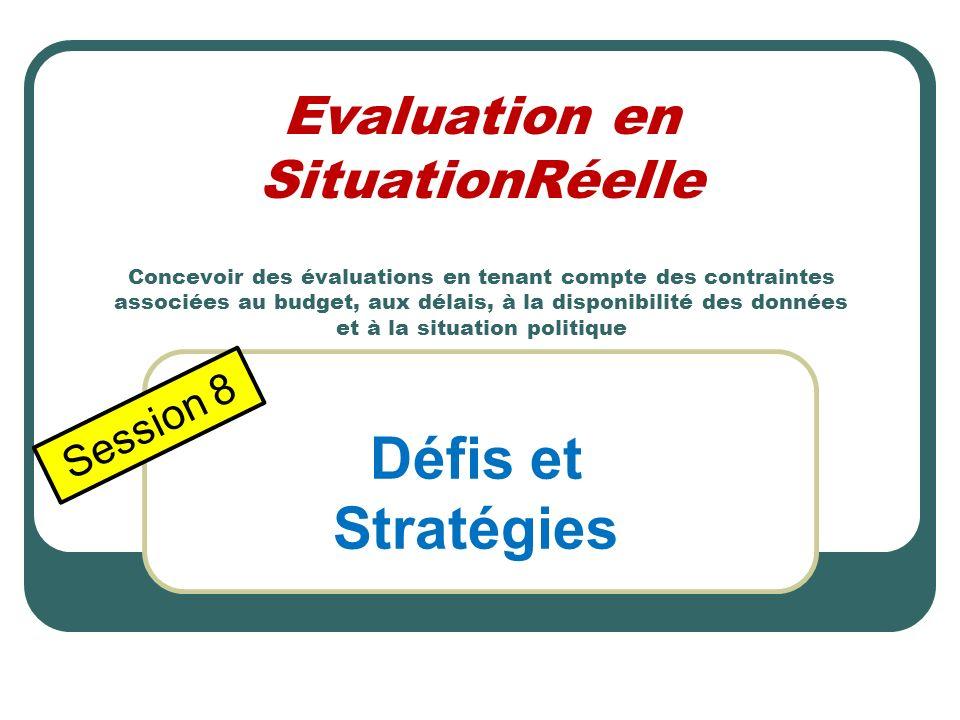 Défis et Stratégies Session 8