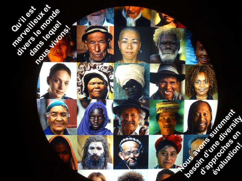 Qu'il est merveilleux et divers le monde dans lequel nous vivons!