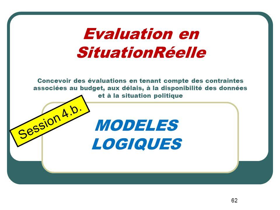 MODELES LOGIQUES Session 4.b.