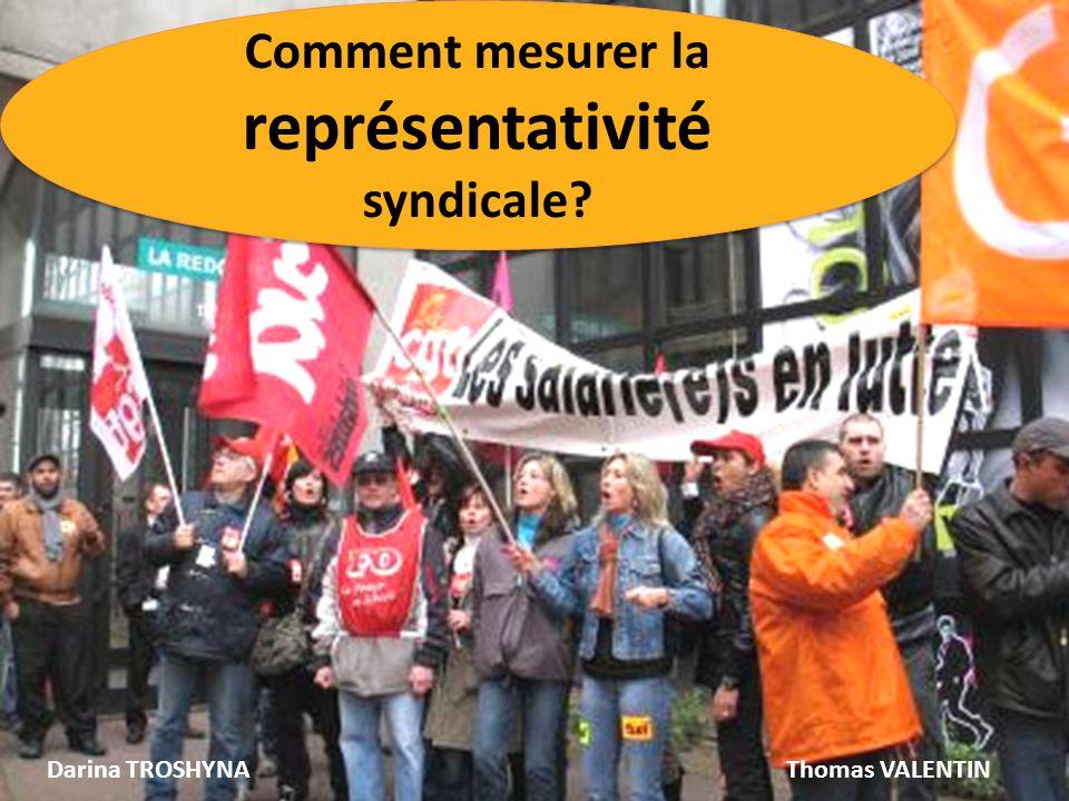 Comment mesurer la représentativité syndicale