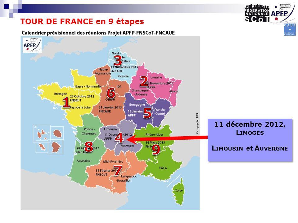 TOUR DE FRANCE en 9 étapes