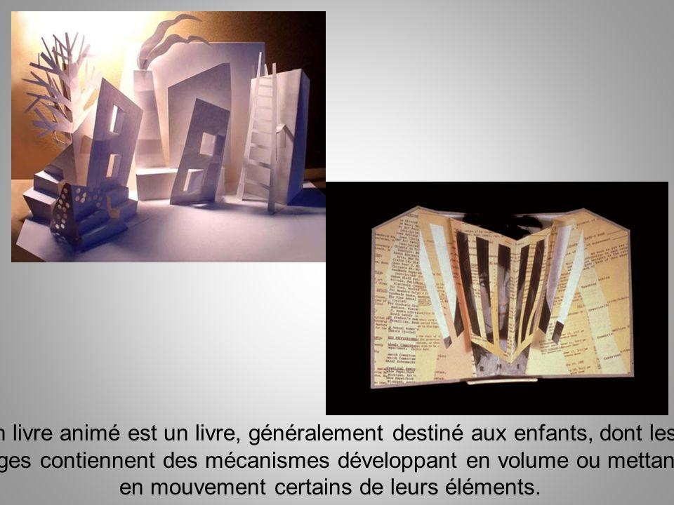 pages contiennent des mécanismes développant en volume ou mettant