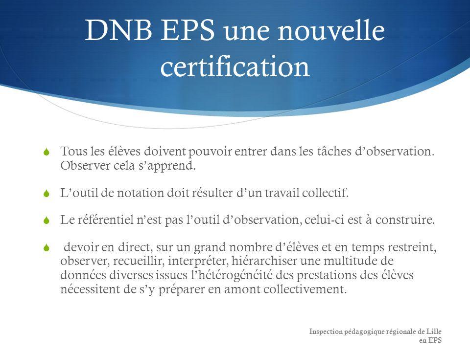 DNB EPS une nouvelle certification