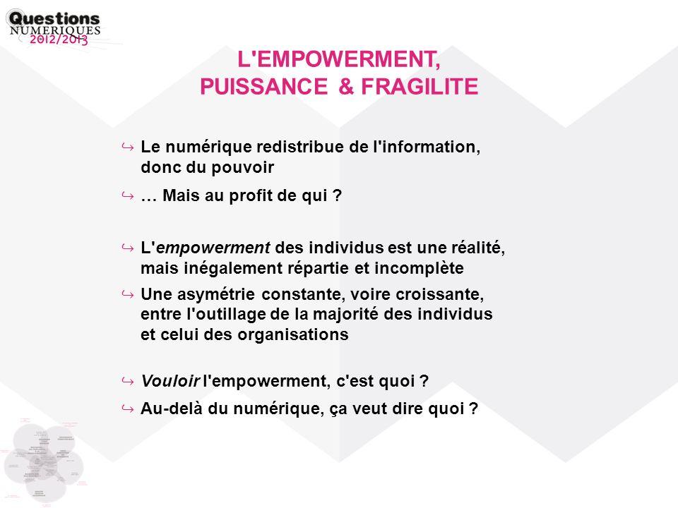 L EMPOWERMENT, PUISSANCE & FRAGILITE