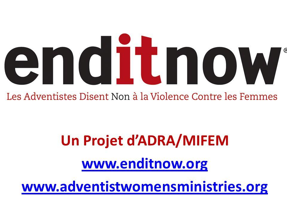 Un Projet d'ADRA/MIFEM