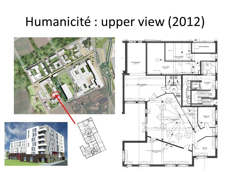 Humanicité : upper view (2012)