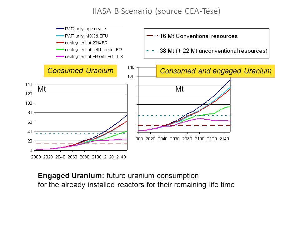 IIASA B Scenario (source CEA-Tésé)