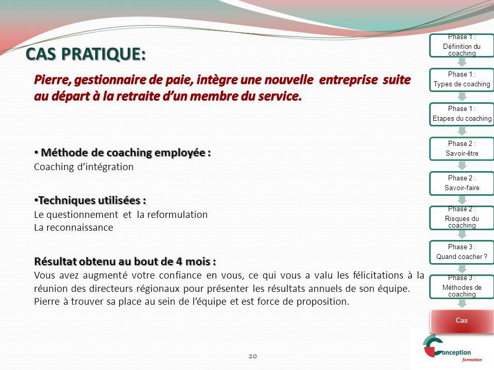 Définition du coaching