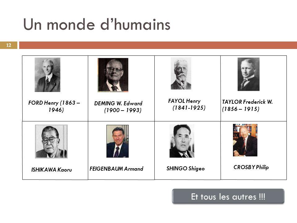 Un monde d'humains Et tous les autres !!! FAYOL Henry