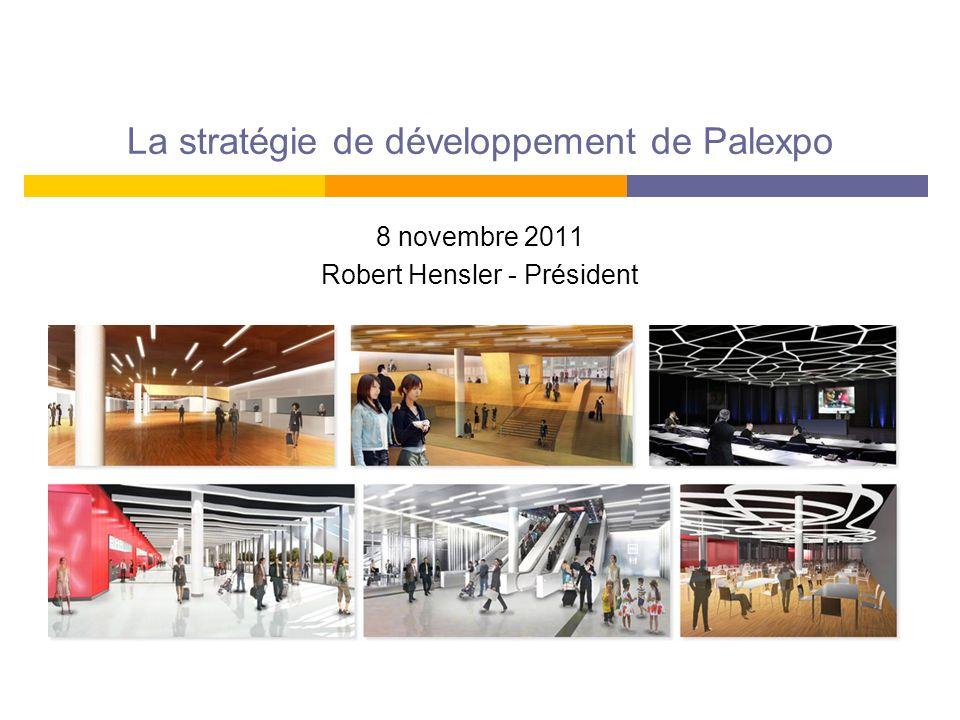 La stratégie de développement de Palexpo