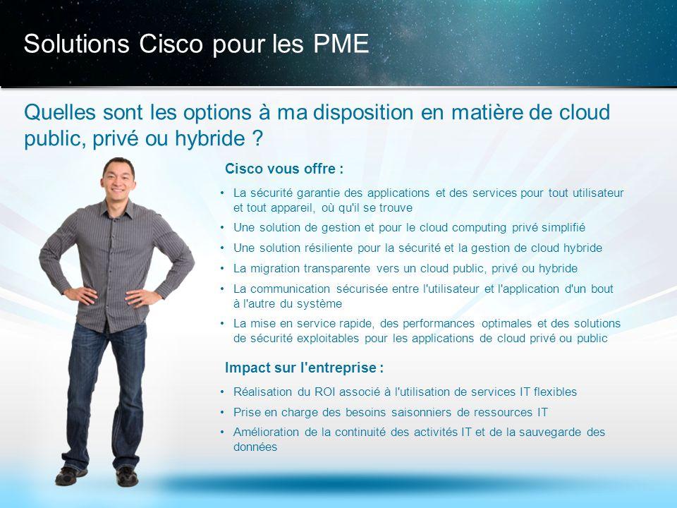 Solutions Cisco pour les PME