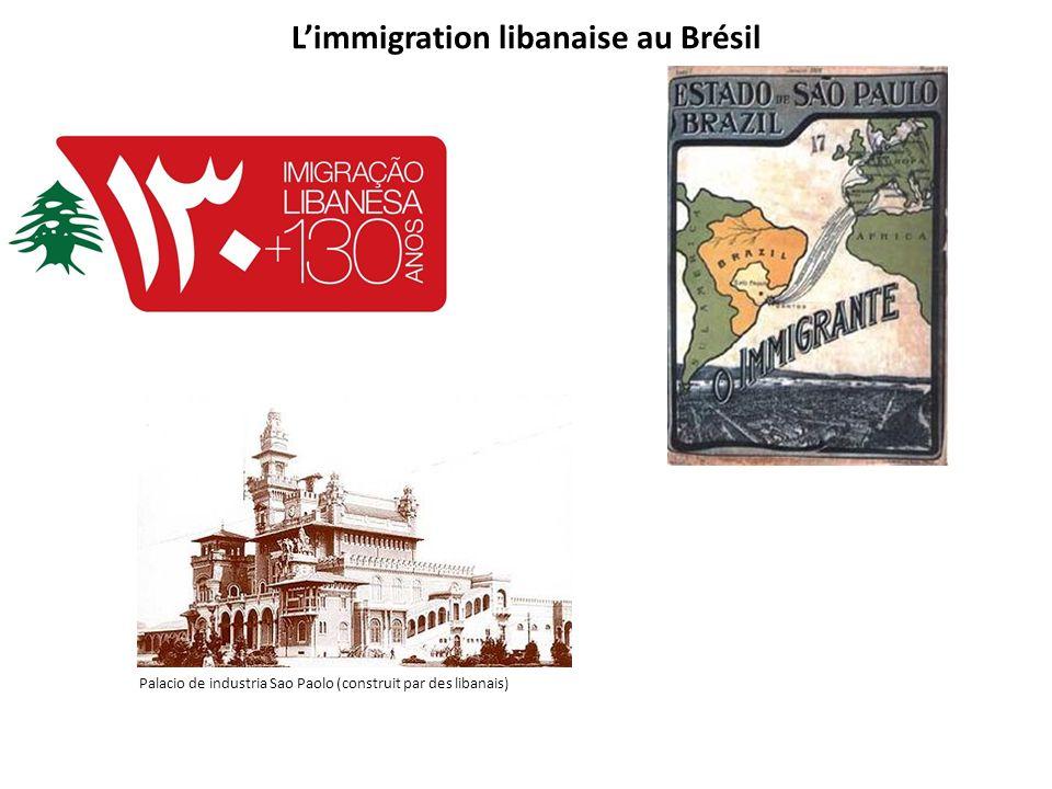L'immigration libanaise au Brésil