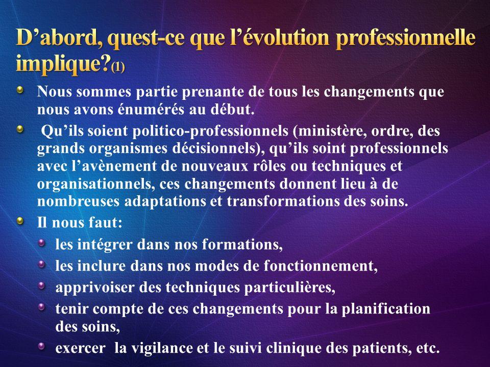 D'abord, quest-ce que l'évolution professionnelle implique (1)