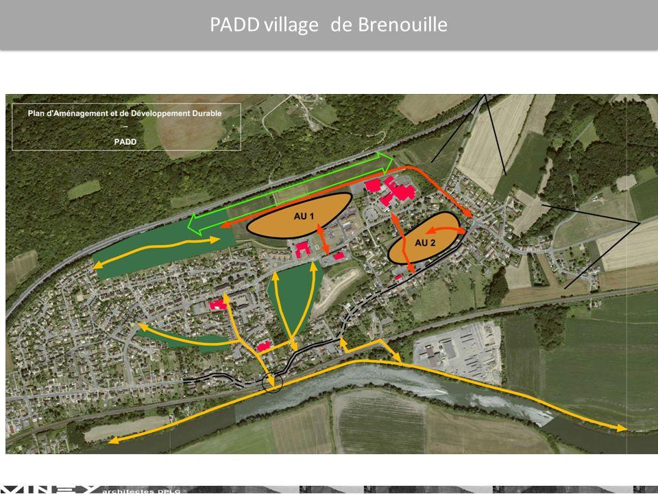 PADD village de Brenouille