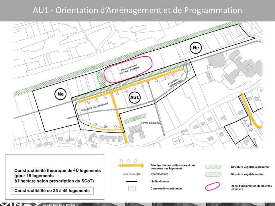 AU1 - Orientation d'Aménagement et de Programmation