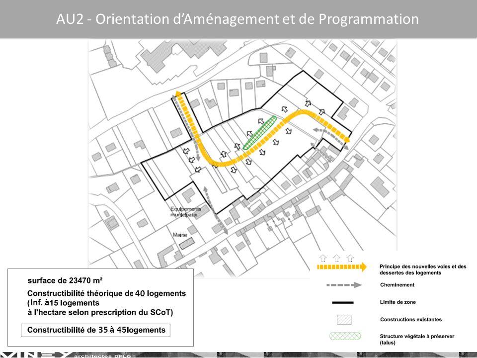 AU2 - Orientation d'Aménagement et de Programmation