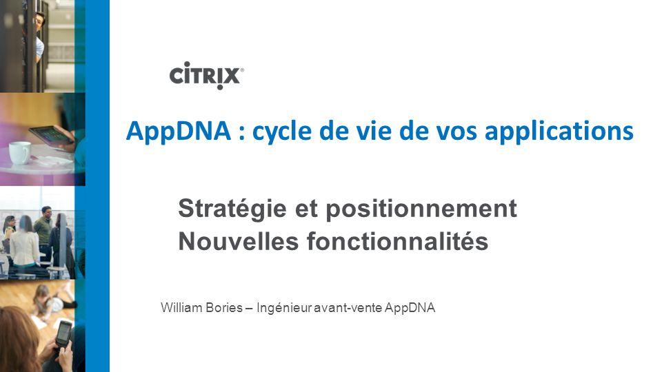 William Bories – Ingénieur avant-vente AppDNA