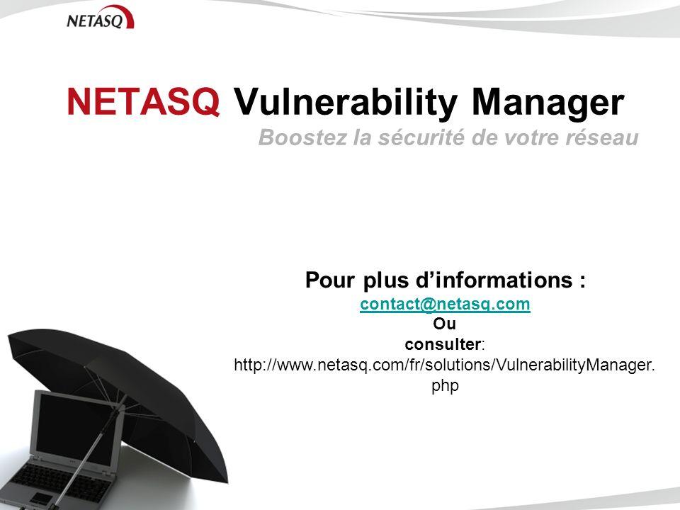 NETASQ Vulnerability Manager