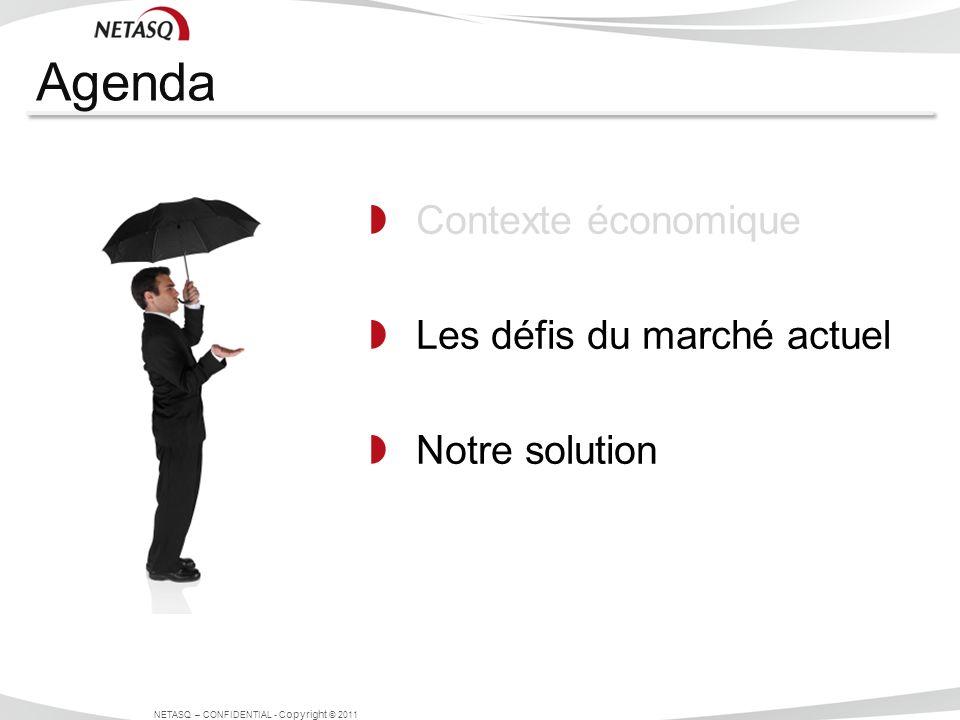 Agenda Contexte économique Les défis du marché actuel Notre solution