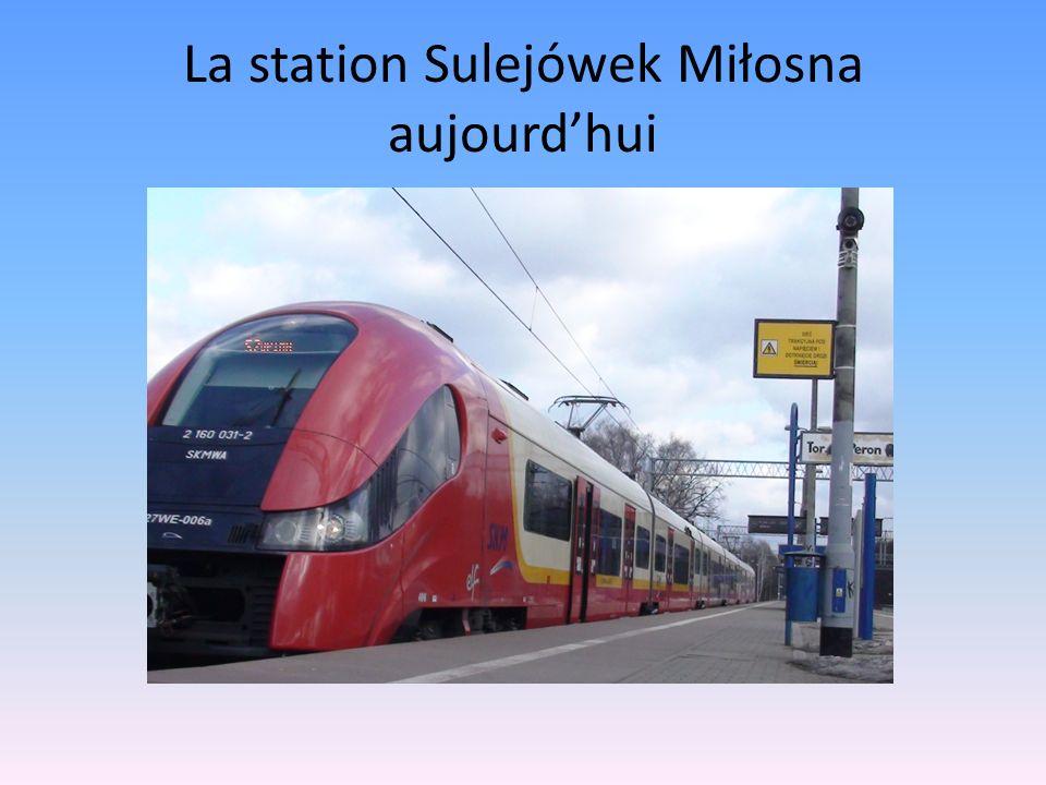 La station Sulejówek Miłosna aujourd'hui