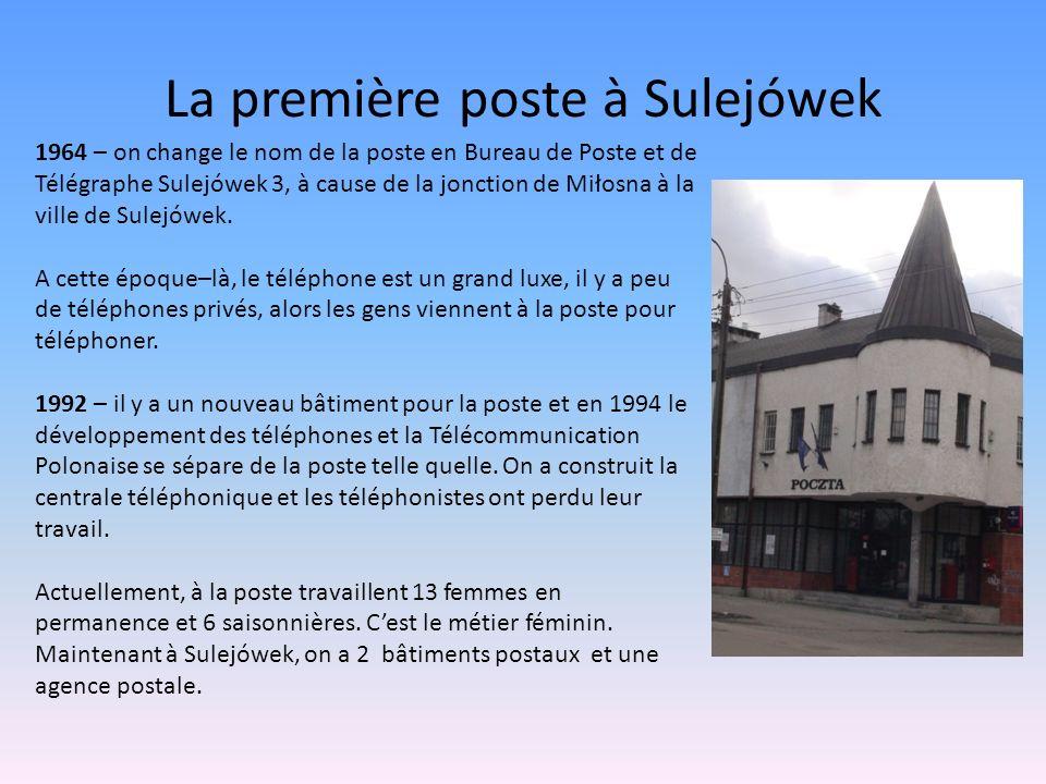 La première poste à Sulejówek