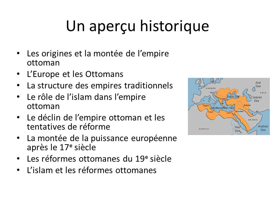 Un aperçu historique Les origines et la montée de l'empire ottoman
