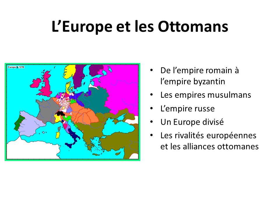 L'Europe et les Ottomans
