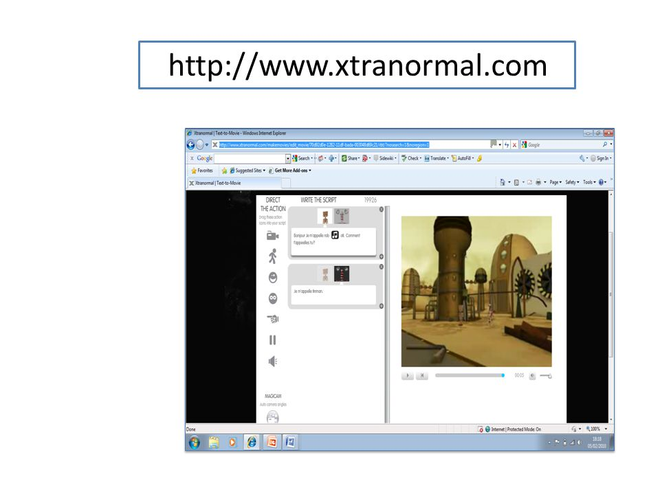 http://www.xtranormal.com