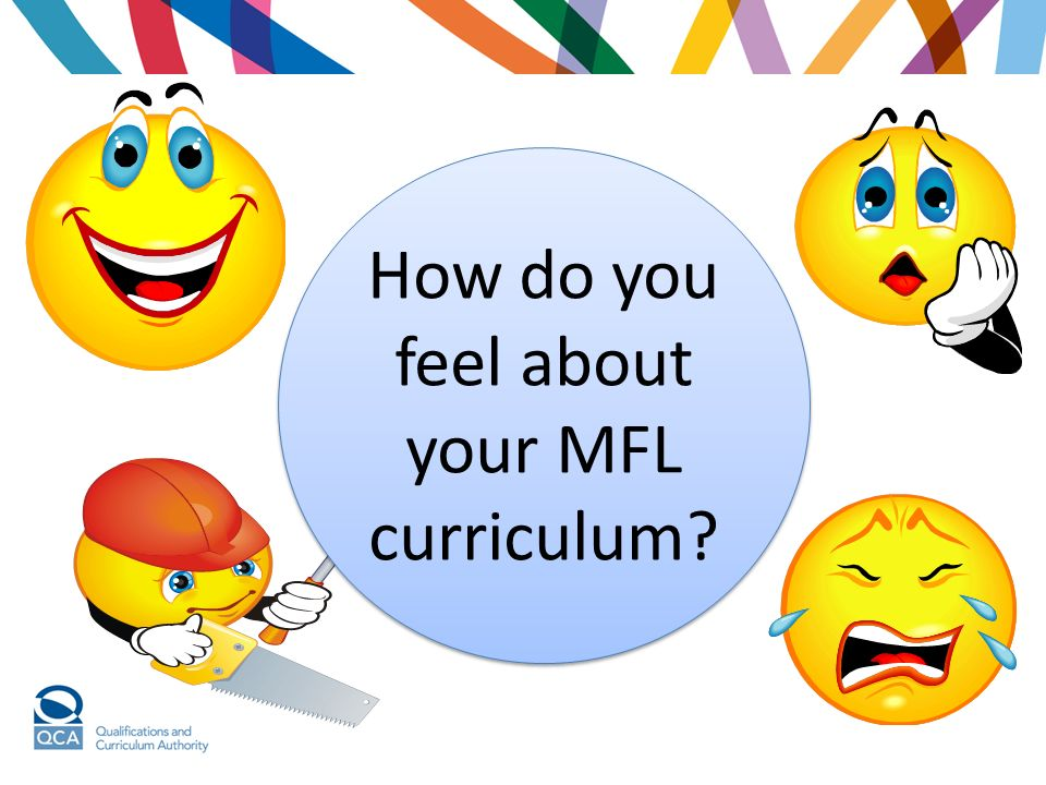 How do you feel about your MFL curriculum