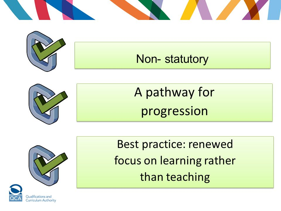 A pathway for progression Best practice: renewed