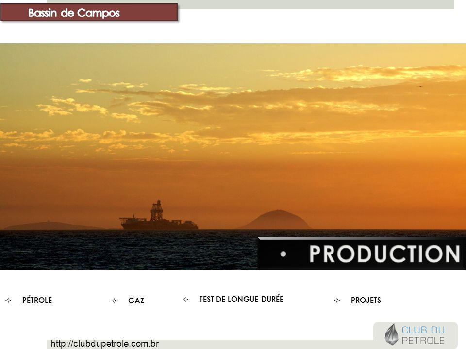 production Bassin de Campos http://clubdupetrole.com.br Pétrole gaz