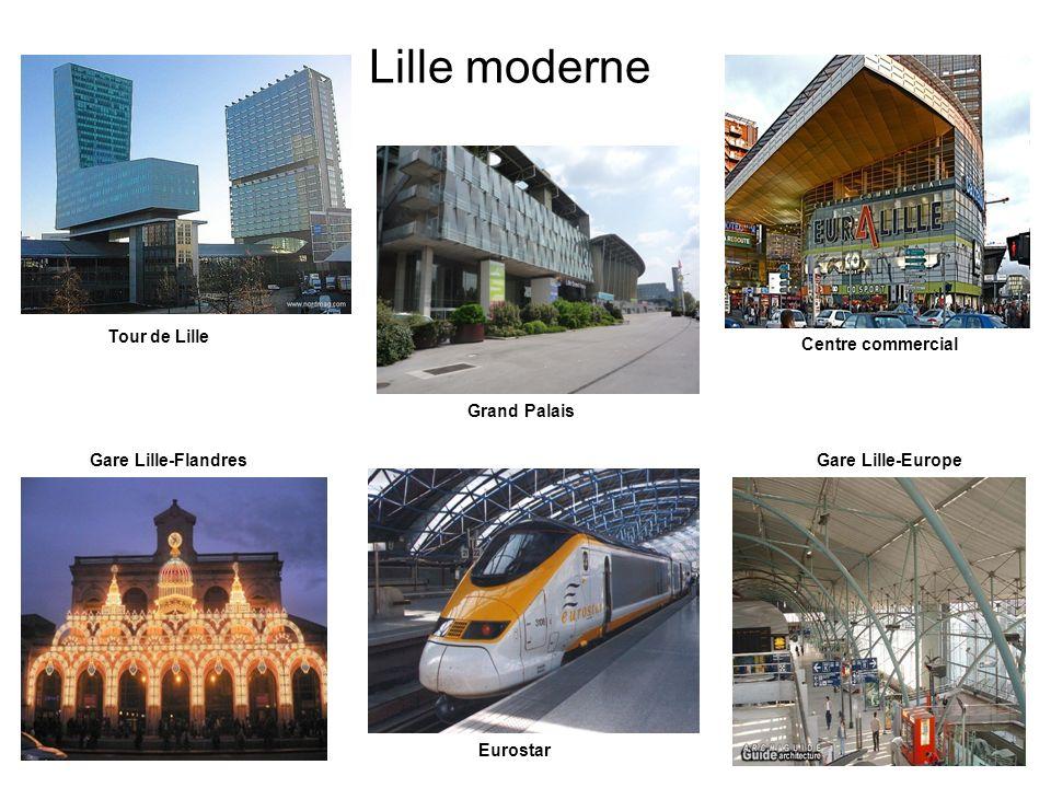 Lille moderne La Tour de Lille Tour de Lille Centre commercial