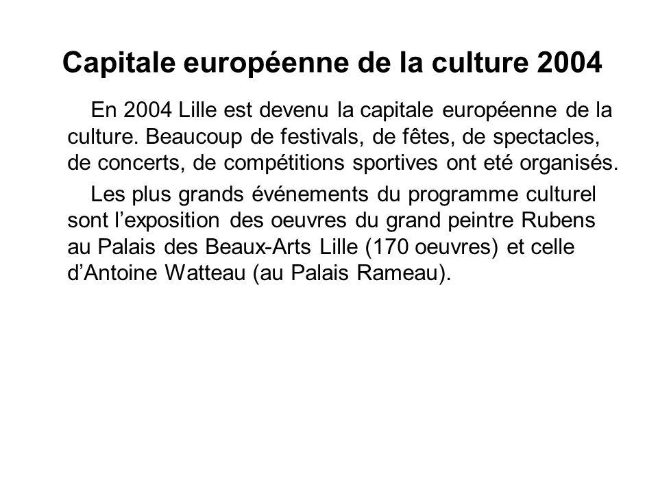 Capitale européenne de la culture 2004