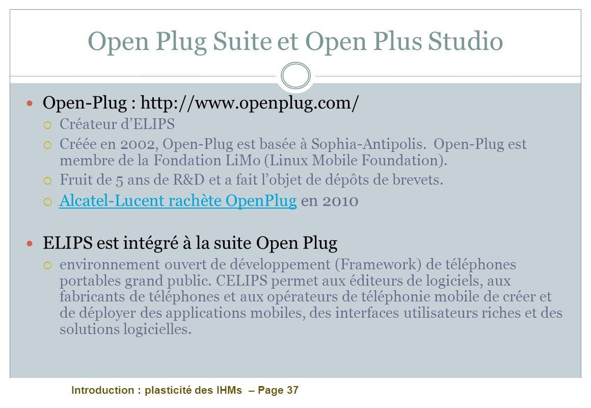 Open Plug Suite et Open Plus Studio