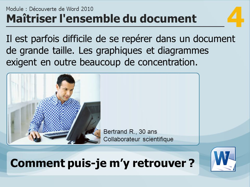 Maîtriser l ensemble du document