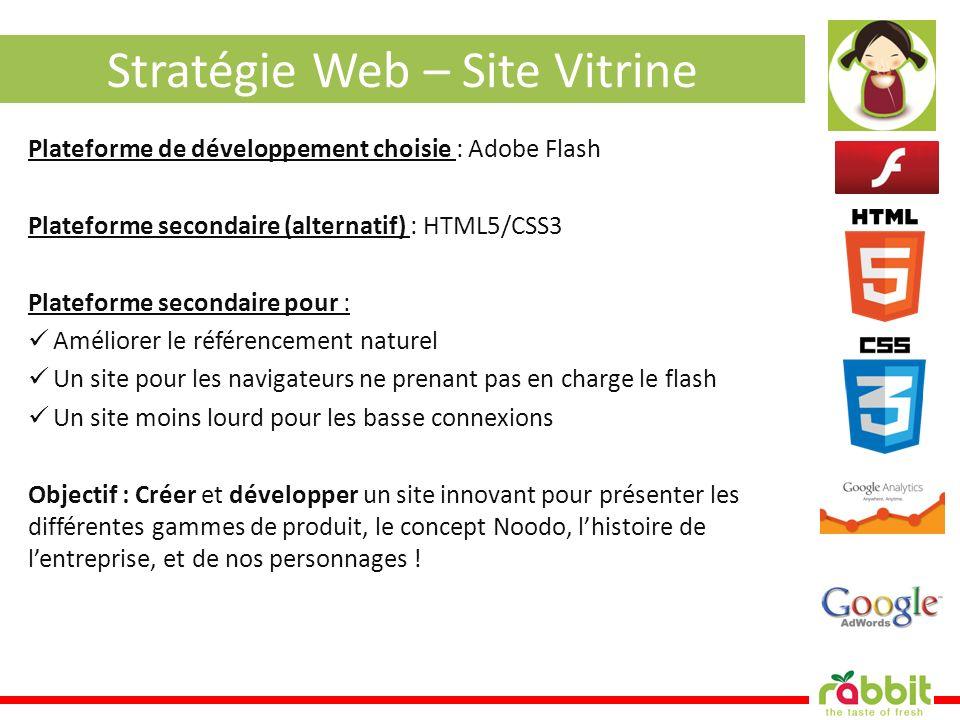 Stratégie Web – Site Vitrine