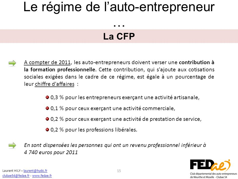 Devenir auto entrepreneur ppt video online t l charger - Formation auto entrepreneur chambre de commerce ...