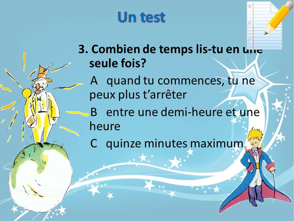 Un test